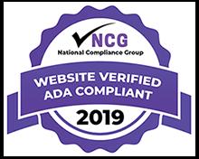 Website Verified ADA Compliant seal